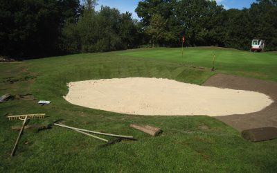 Golf Club Bunker Restoration Repair & Resiting