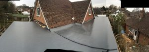 Cure it Glass Fibre Roofing Berkshire finished